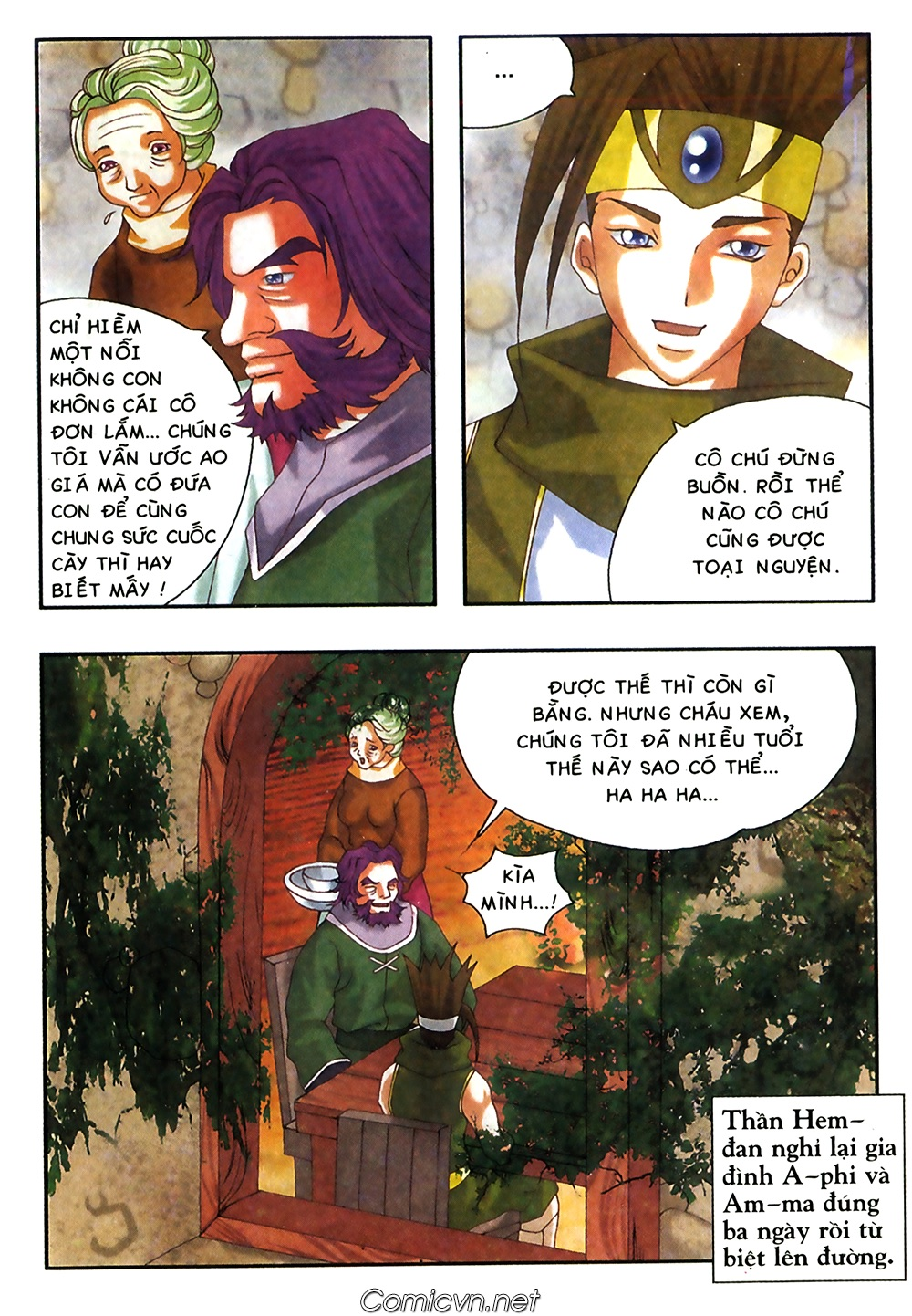 Thần thoại Bắc Âu - Chapter 38: Sứ mệnh đặc biệt - Pic 32