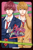 Saki Aikawa, Delcourt / Tonkam, Manga, Critique Manga, Be-Twin You and Me,
