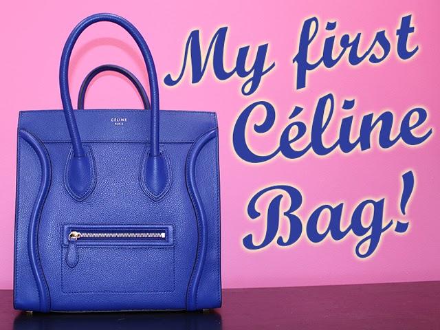 41102a293c14 The Haute Blonde- Fashion   Beauty Blog  Celine Mini Luggage Tote ...