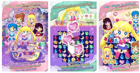 game cewek android sailor moon