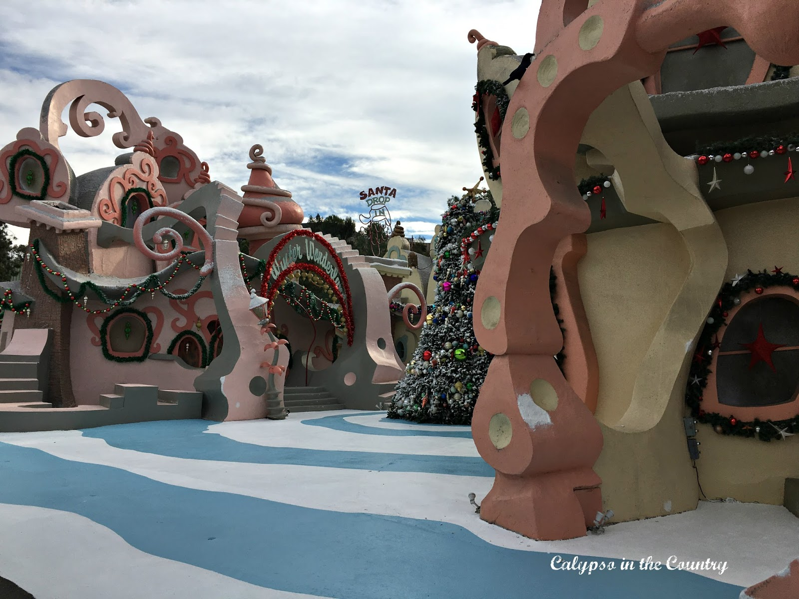 Whoville set at Universal Studios