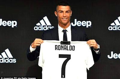 Juventus sells $60m worth of Ronaldo jerseys in 24 hours