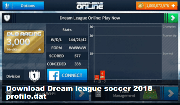 Game Dream league soccer 2018