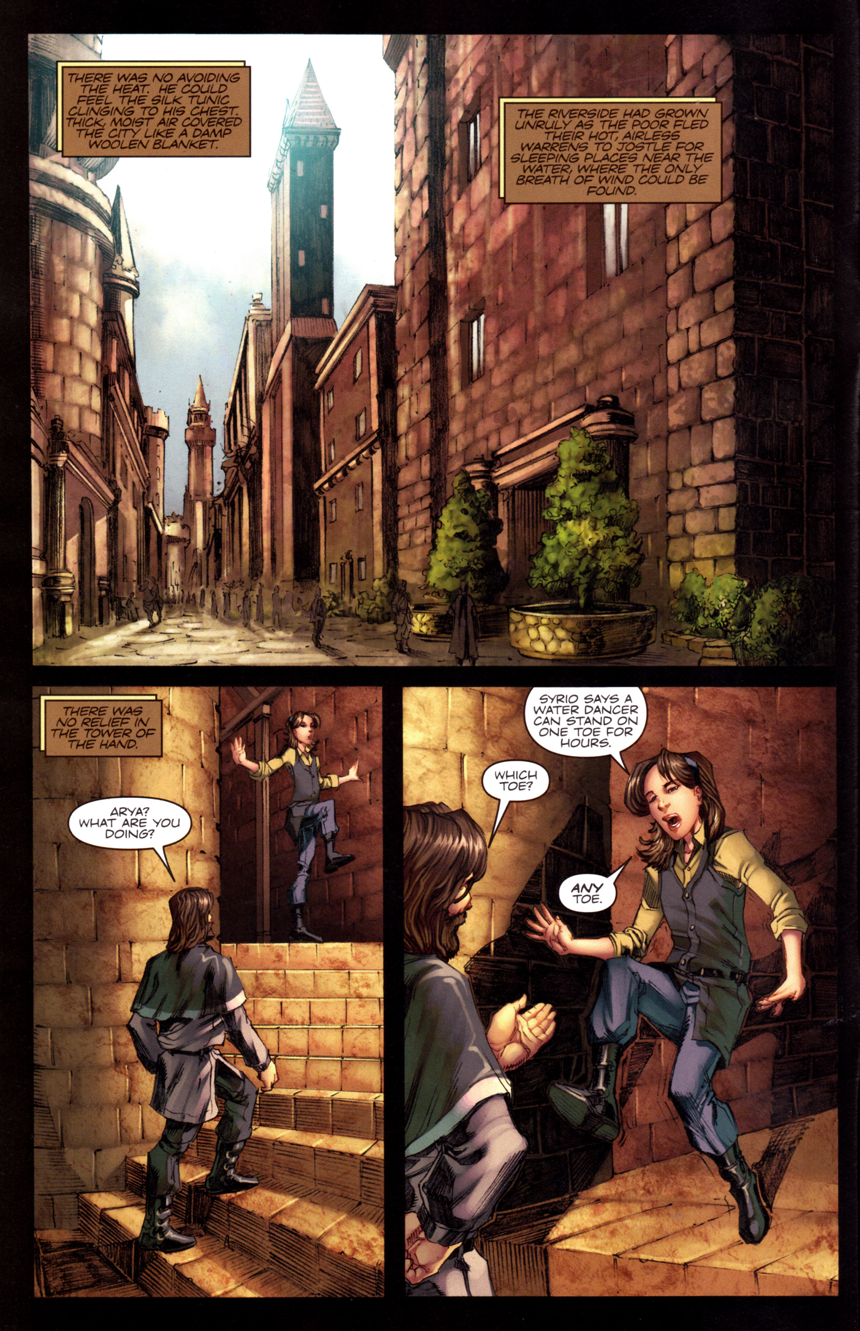 Read online A Game Of Thrones comic -  Issue #8 - 6