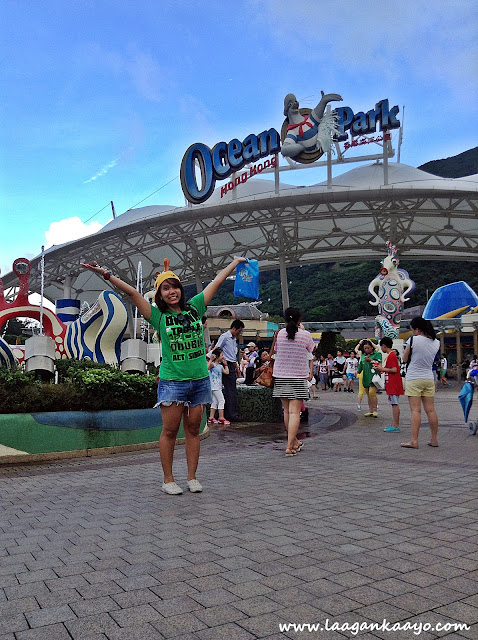 Entrance Ocean Park Hong Kong