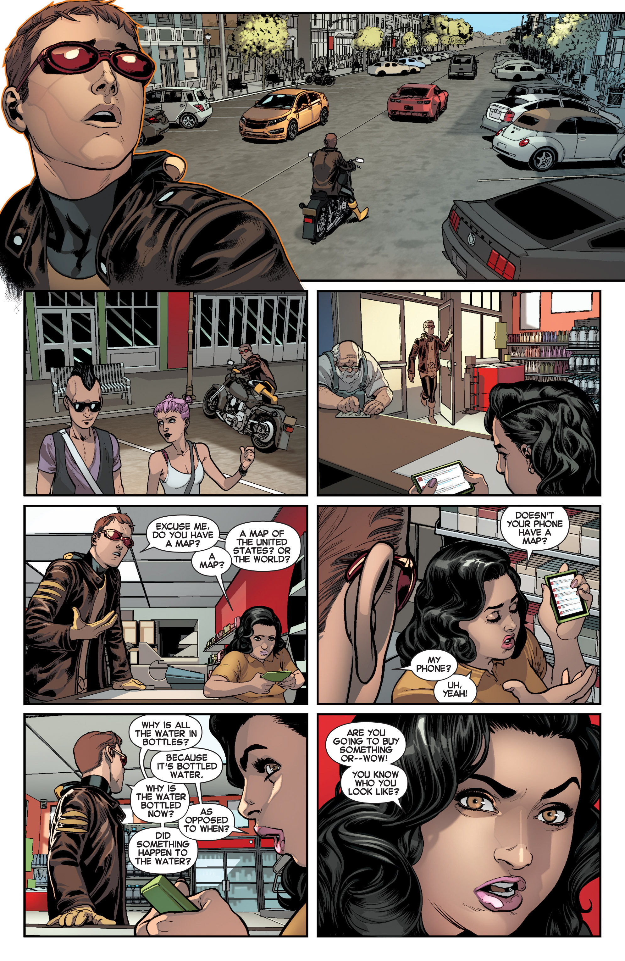 Read online All-New X-Men (2013) comic -  Issue # _Special - Here To Stay - 13