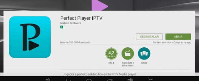 pp1 Perfect Player IPTV para Android