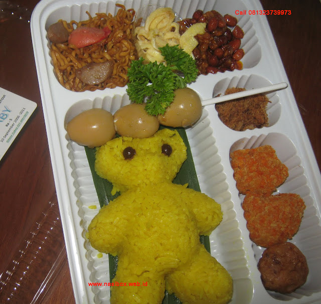 Nasi kotak untuk ultah anak anak