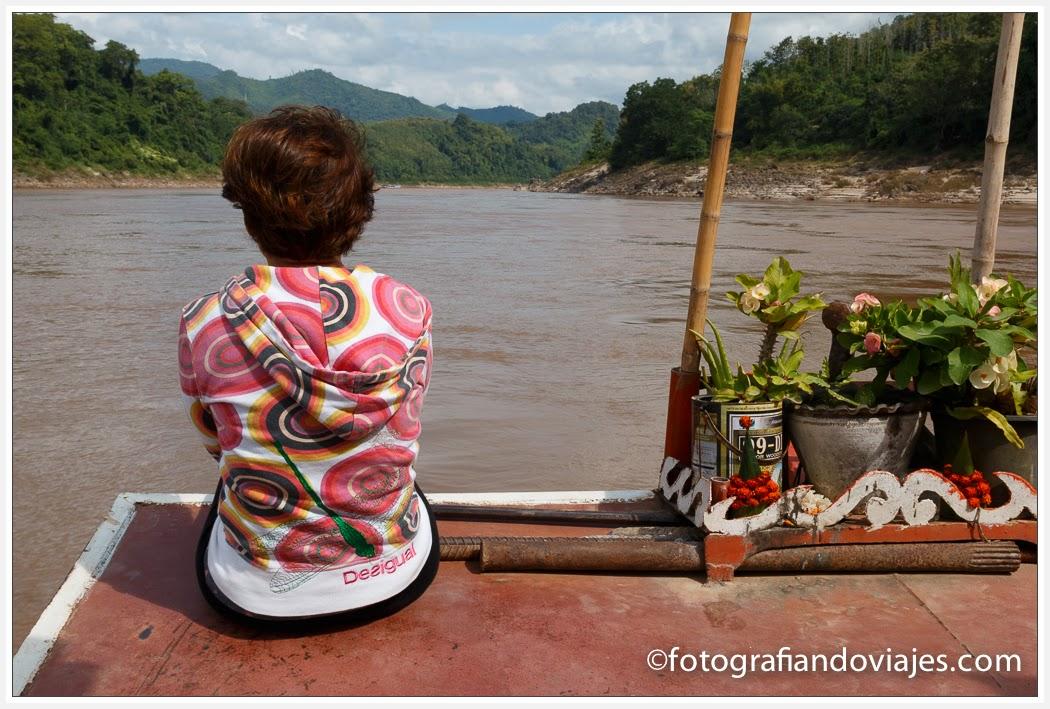 exterior Shampoo cruise en Laos