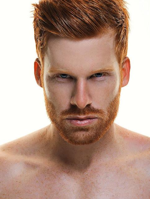Red hot ginger men consider, that