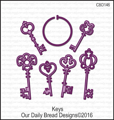 Our Daily Bread Designs Custom Keys Dies