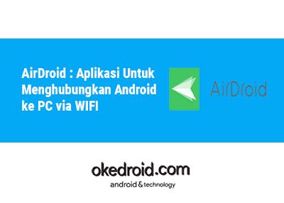 cara menghubungkan menampilkan layar android ke pc laptop via dengan wifi tanpa kabel data