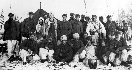 28 February 1940 worldwartwo.filminspector.com Swedish volunteers Finland