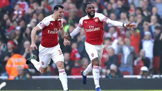 Arsenal 2 0 Southampton: Lacazette Scores