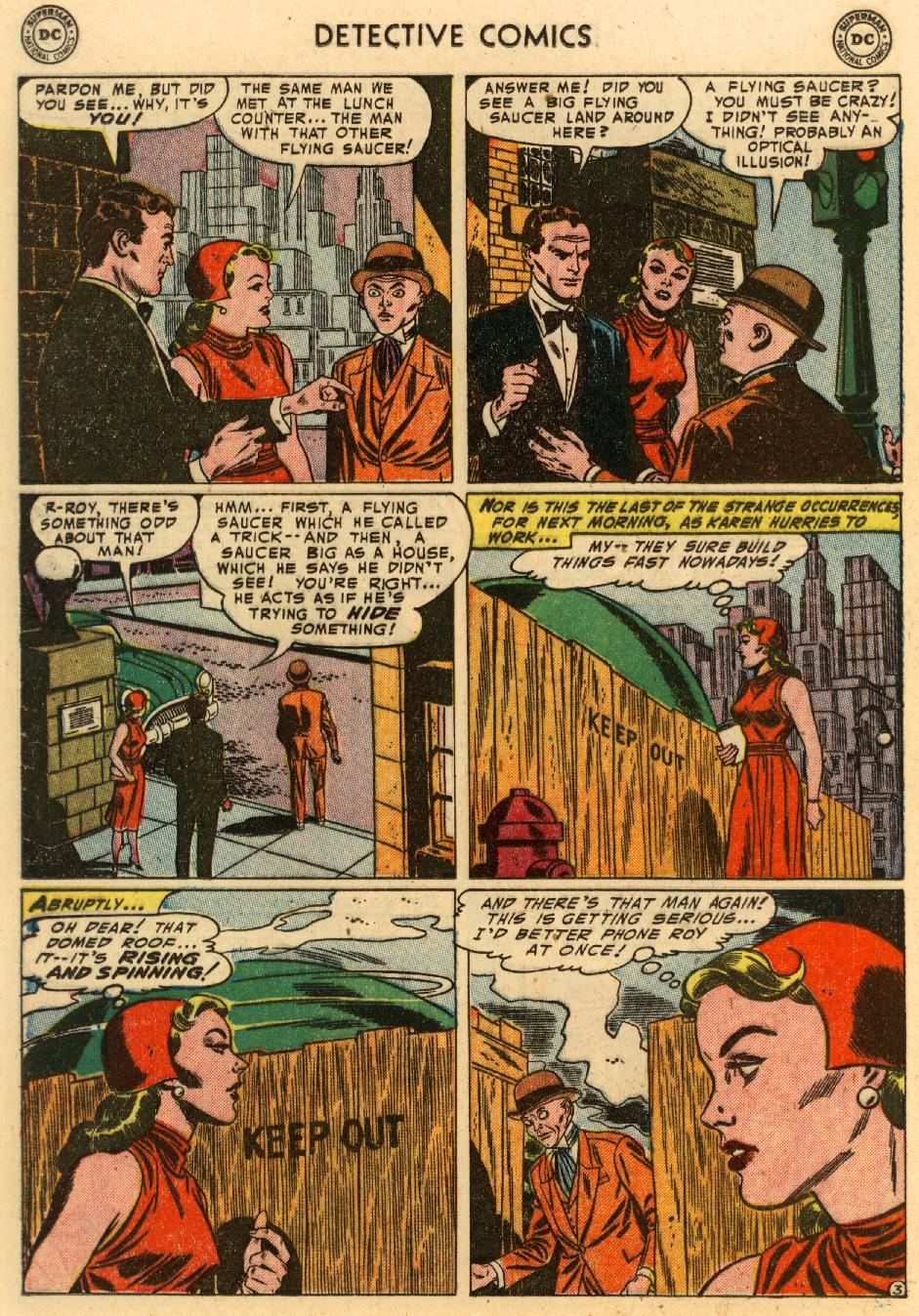 Read online Detective Comics (1937) comic -  Issue #207 - 16