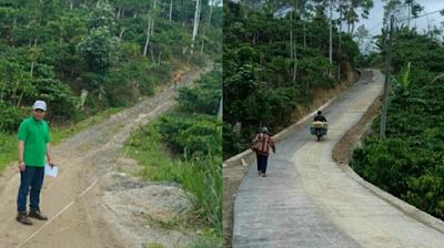 Gerbang Desa Saburai 2017: Pekon Rigis Jaya Membangun