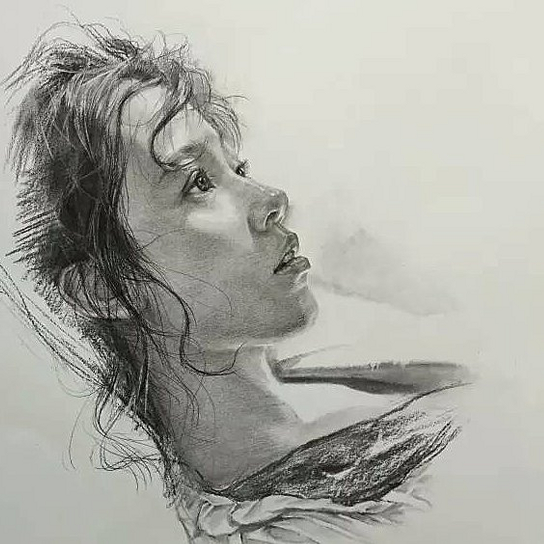 05-Lee-Charcoal-Portraits-full-of-Expressions-and-Emotions-www-designstack-co