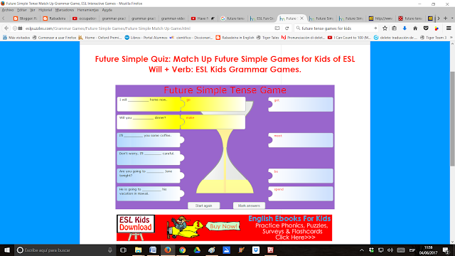 http://eslpuzzles.com/Grammar%20Games/Future%20Simple%20Games/Future%20Simple%20Match%20Up%20Game.html