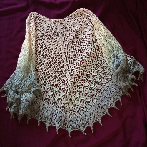 Doire (The Derry Shawl) - Free Pattern