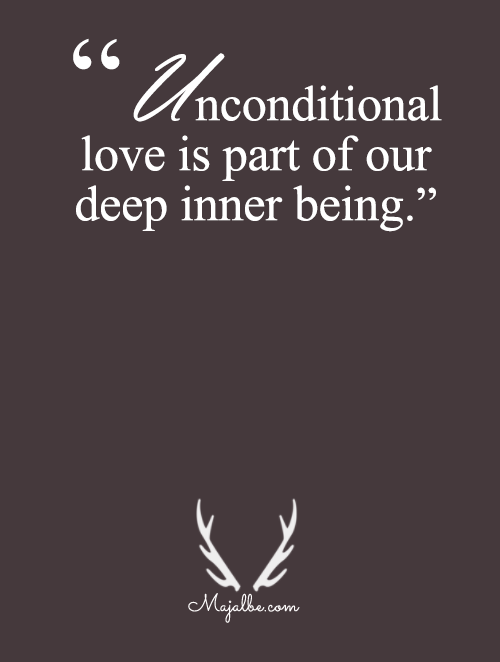 Unconditional Love Is A Part Of Us