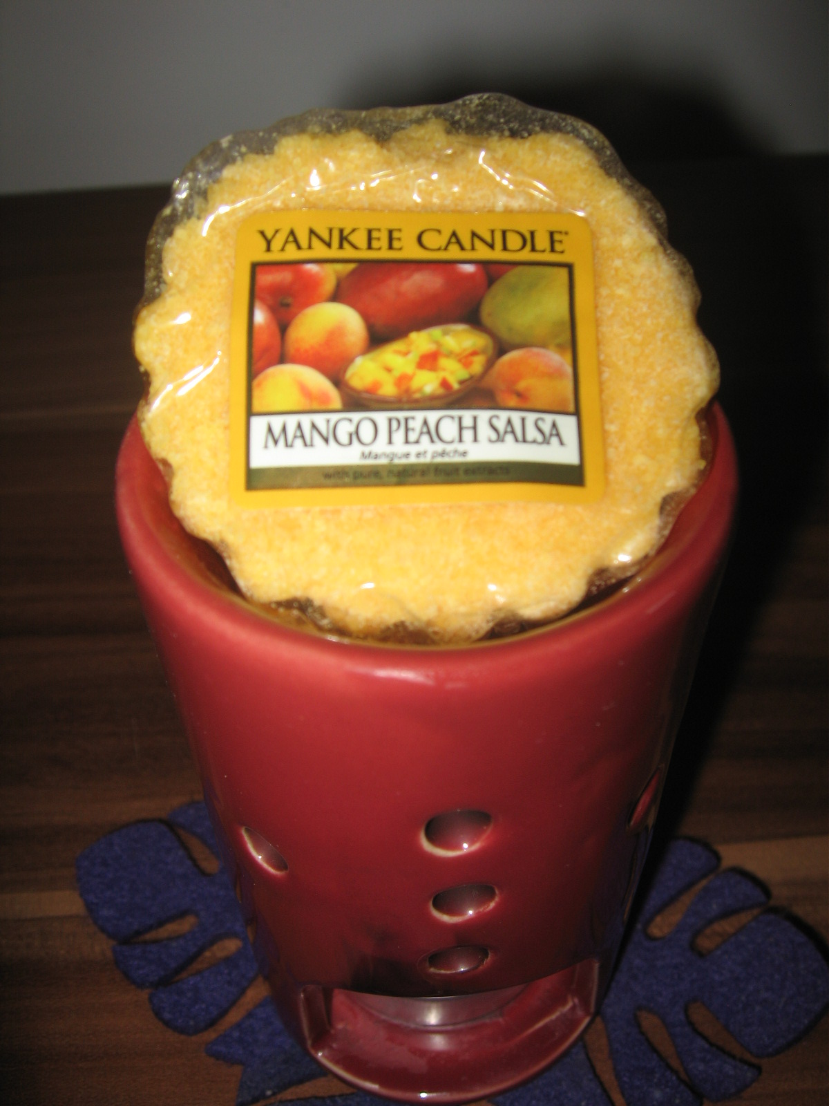 Yankee Candle Mango Peach Salsa i Hazelnut Coffee