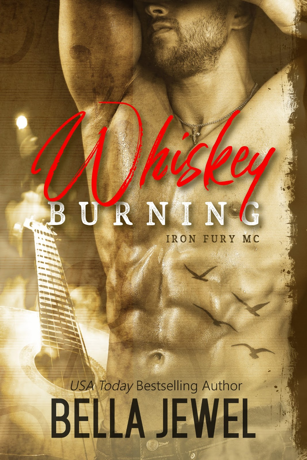 COVER REVEAL: WHISKEY BURNING by Bella Jewel