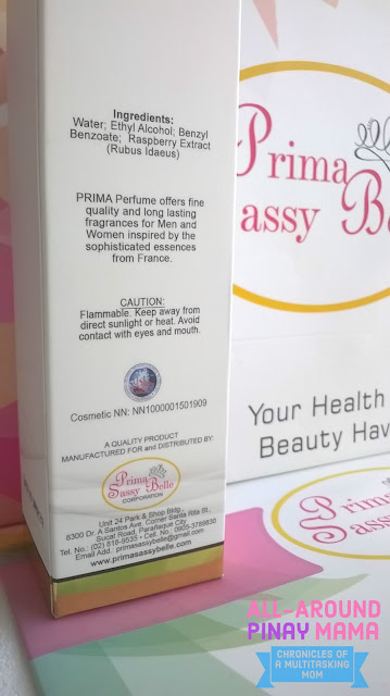All-Around Pinay Mama blog, SJ Valdez, AAPM Health and Wellness, Affordable Perfumes, Amedee by Prima Parfum, Eau de Parfum PH, My Cosmetic Fixation, Prima Sassy Belle, Product Review