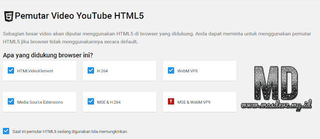 YouTube HTML5 - Mas Devz