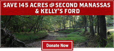 Save 145 acres at Second Manassas and Kelly's Ford