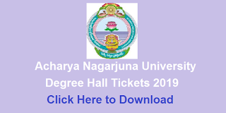 Manabadi ANU Degree Hall Tickets 2019 Download