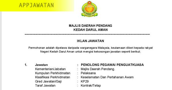 Majlis Daerah Pendang