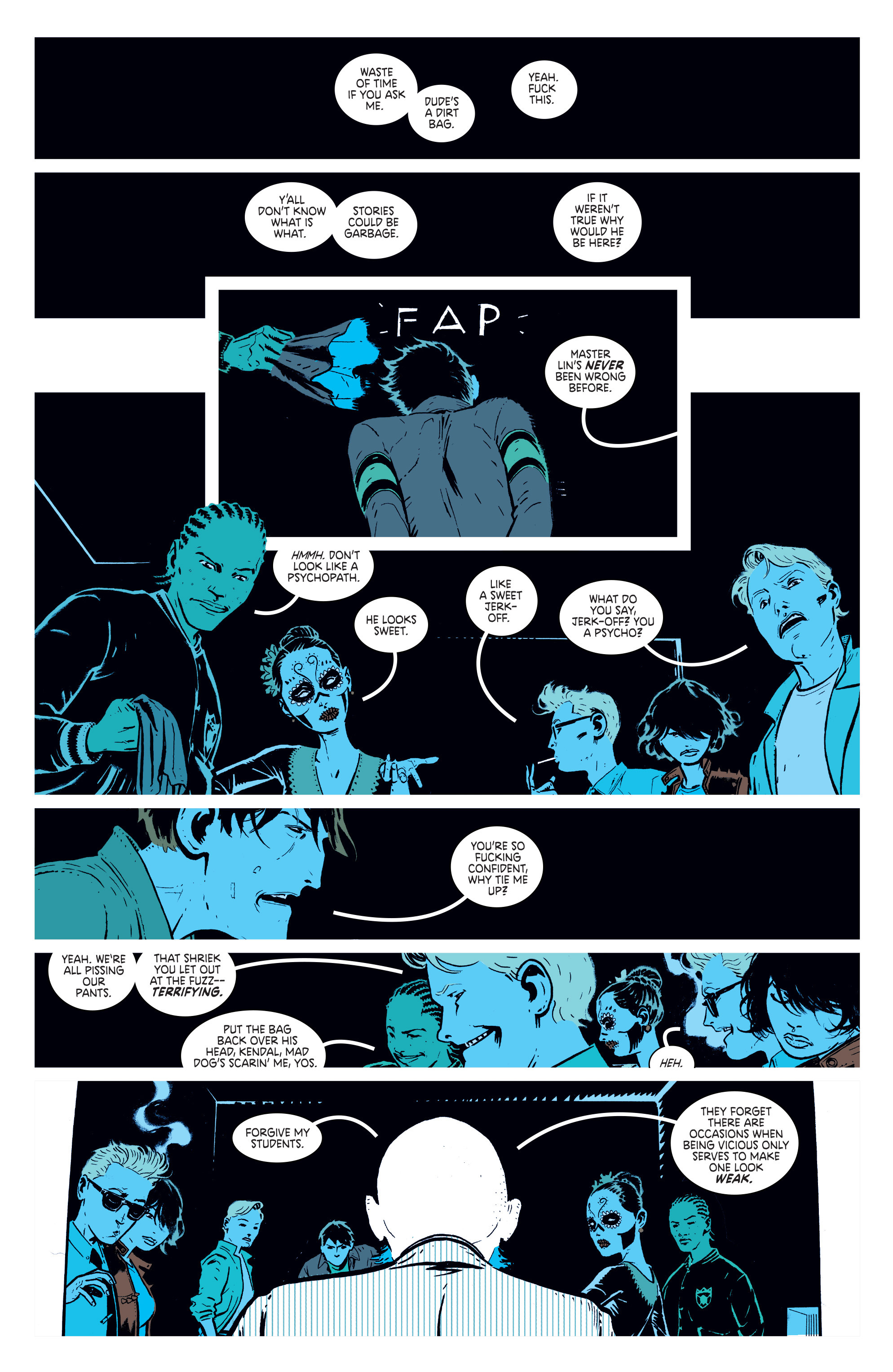 Read online Deadly Class comic -  Issue #1 - 24
