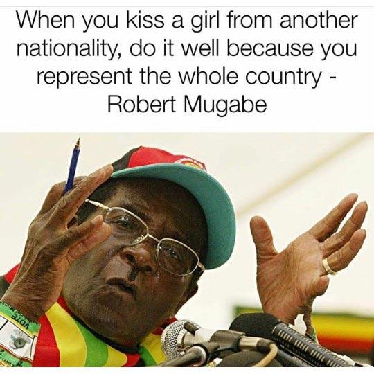 Hilarious meme: When you kiss a girl