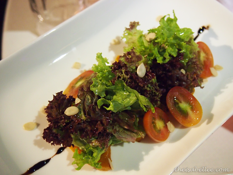 Pumpkin Salad at TGV Indulge