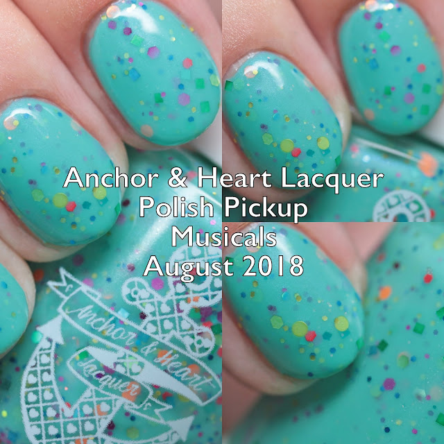 Anchor & Heart Lacquer Polish Pickup Musicals August 2018