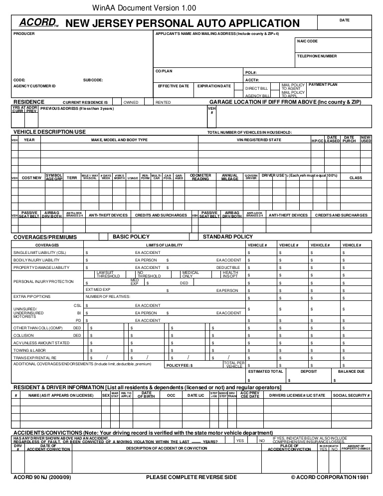 Usage Based Insurance Auto Insurance Application Insurance Information Center