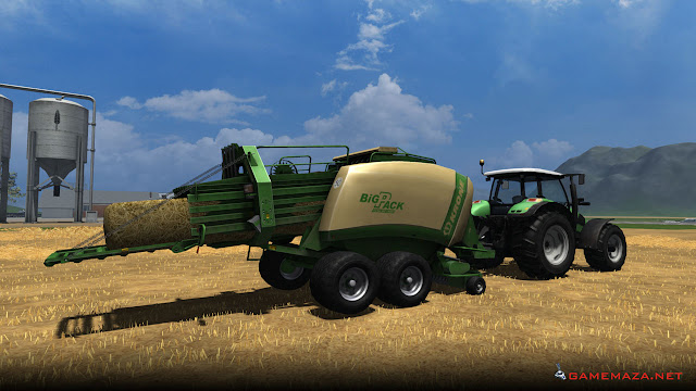 Farming Simulator 2011 Gameplay Screenshot 1