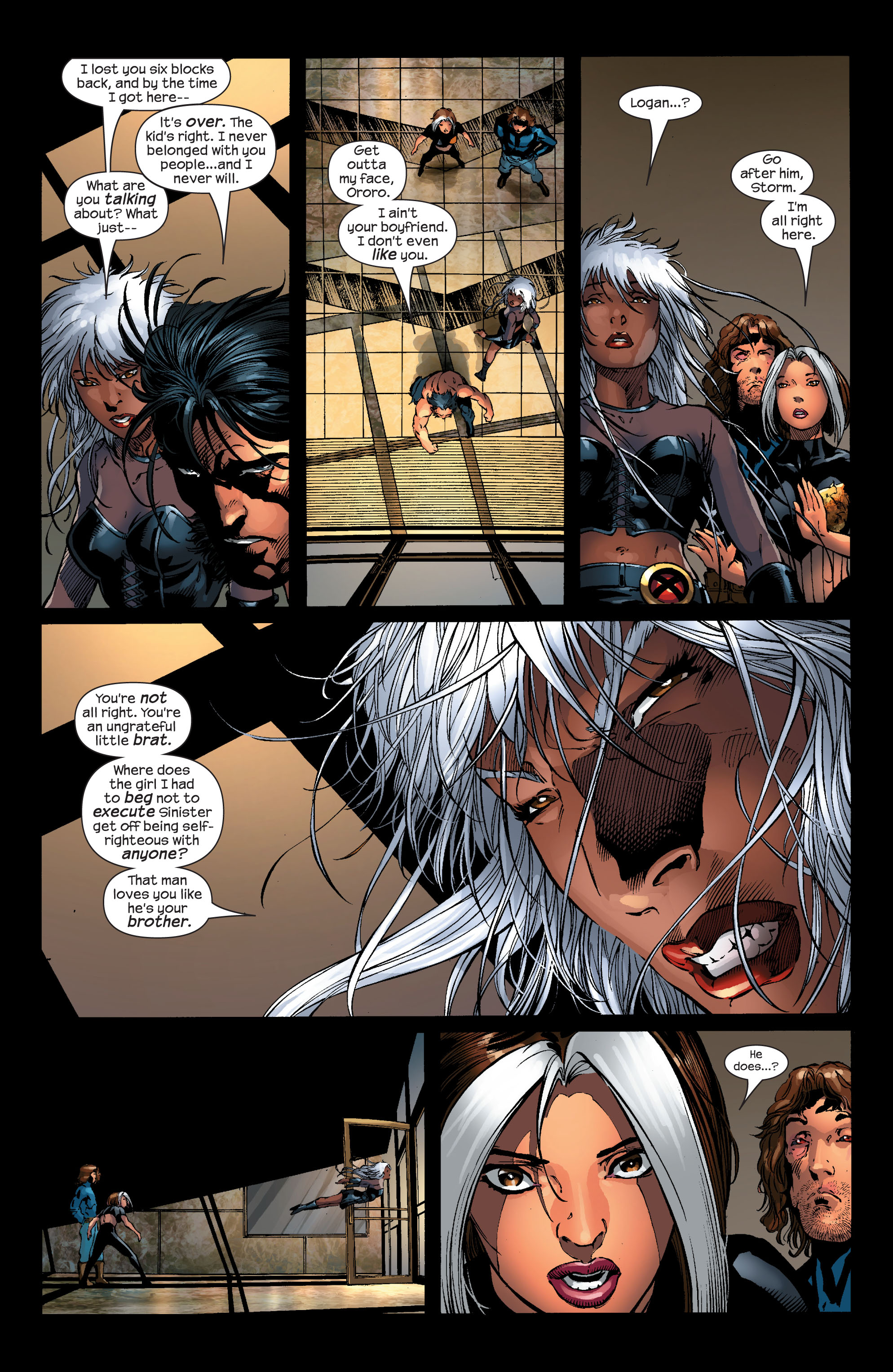 Read online Ultimate X-Men comic -  Issue #53 - 19