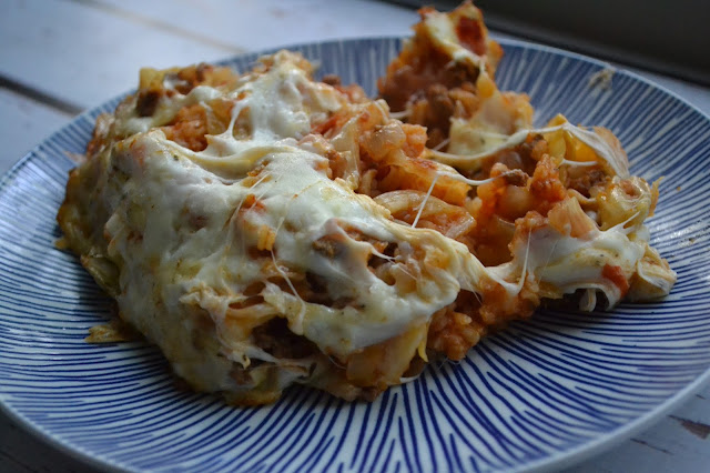 Deconstructed Stuffed Cabbage Casserole