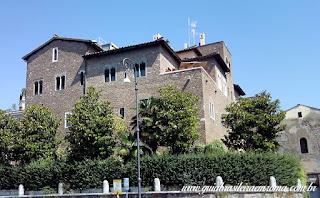 A mansão da família Pierleoni em Roma