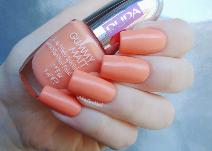 Pupa Gummy Matt 001 Apricot: swatches and review