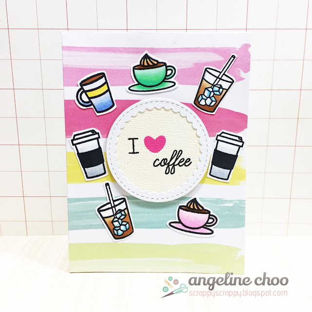 ScrappyScrappy: Guest Designing: Spring Coffee Lovers Blog Hop #scrappyscrappy #spring2017clh #coffeelovingcardmakers #coffeelovingpapercrafters #sweetstampshop #ssscuppacoffee #coffee #dearlizzy #copic #card #cardmaking #papercraft #ilovecoffee #katscrappiness #ginamariedesigns