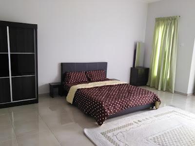 Bilik Tidur Utama Homestay di Bandar Sri Botani Ipoh
