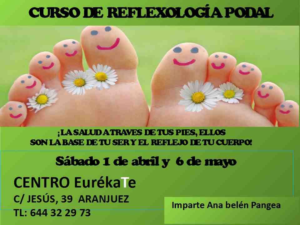 Curso de Reflexología Podal en Aranjuez | EurékaTe