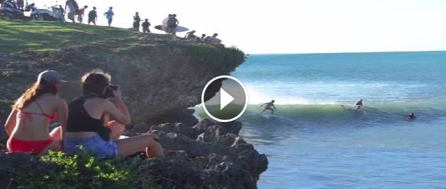 Weird NOVELTY wave in Bali