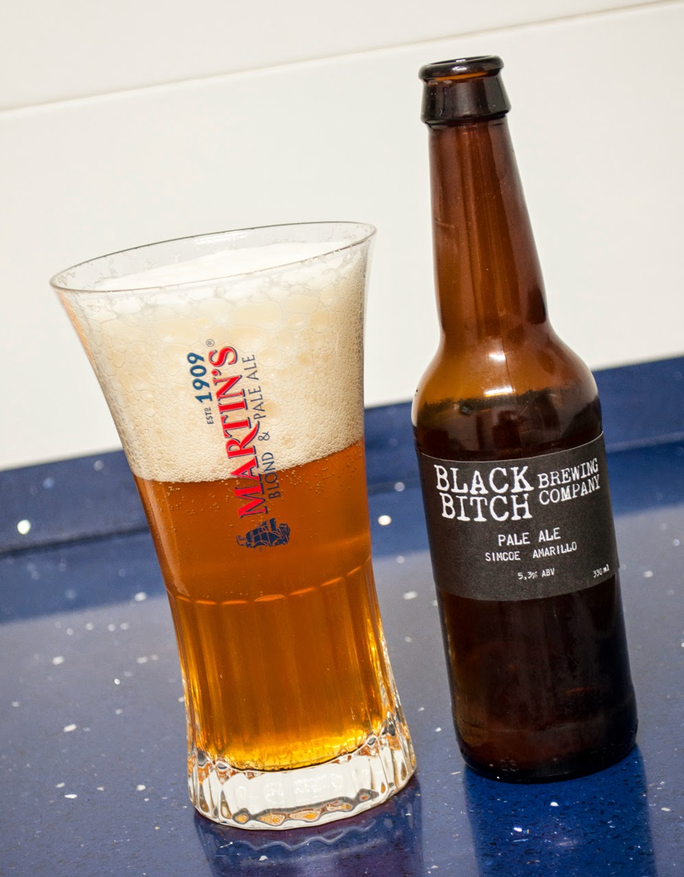 Black Bitch Pale Ale Simcoe Amarillo
