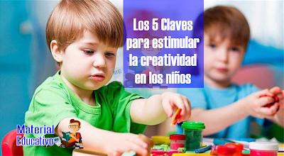 5 Claves para estimular la creatividad en los niños