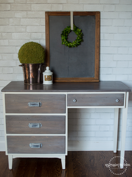 My Passion For Decor: Restoration Hardware Inspired Desk