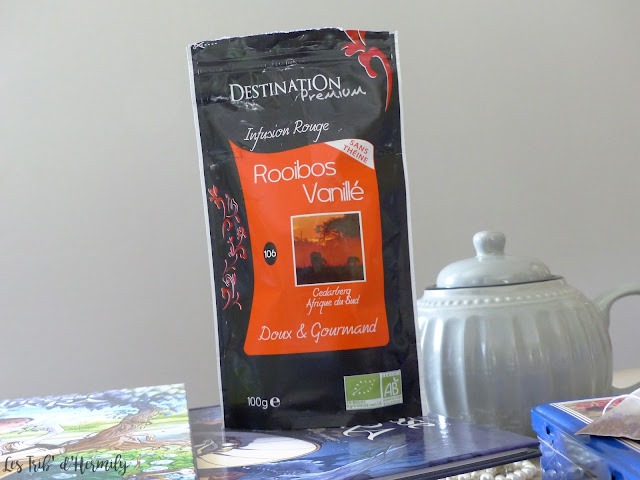 Thé tea time Damman Frères Kusmi Tea Lifestyle Rooibos Vanille