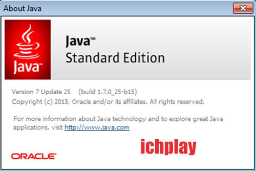 Tải Java 7, 8, 9 mới nhất (32 bit, 64 bit) cho Win 7, 10, 8, 8.1, XP miễn phí e